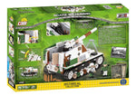 Achterkant van de doos van de Cobi 2516 historical collection world war 2 sd.kfz 165 Hummel artillerie tank