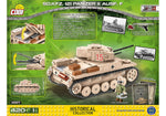 COBI World War II: SD.KFZ. 121 Panzer II Ausf. F (2527)