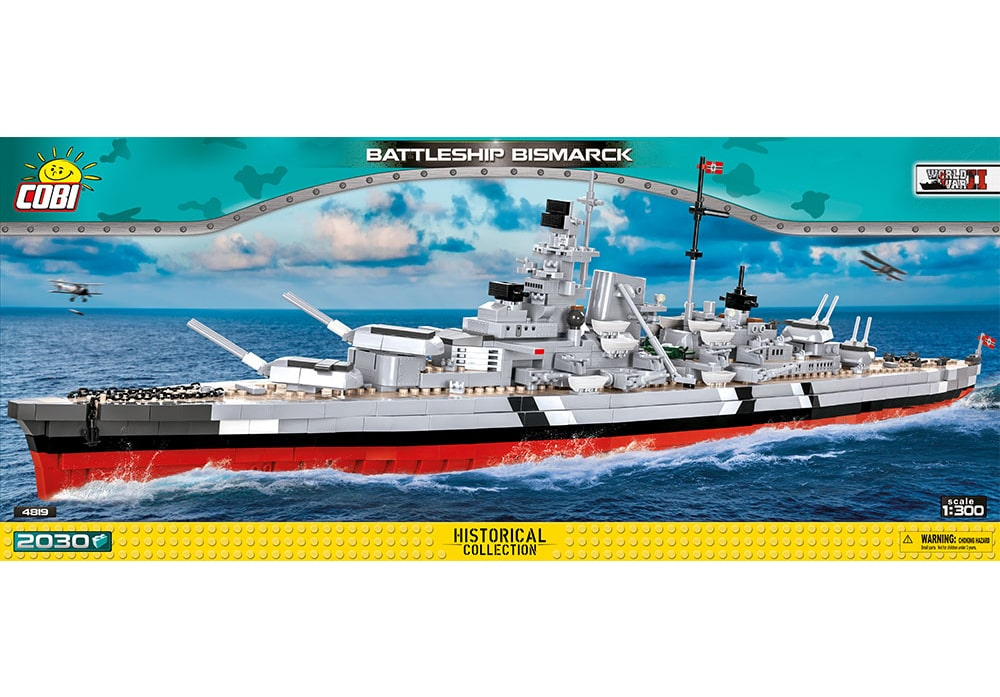 COBI World War II: Battleship Bismarck (4819)