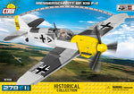 Voorkant van de Cobi 5715 bouwset world war 2 historical collection messerschmitt bf 109 f-2 jachttoestel