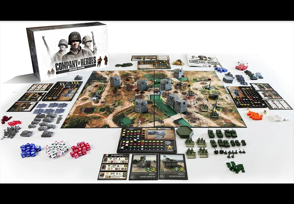 PRE-ORDER: Company of Heroes Board Game (2020)