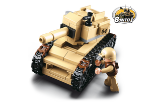 Sluban Army: Tank 8-in-1 (M38-B0587B)