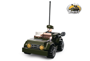 Sluban Army: Jeep 8-in-1 (M38-B0587F)