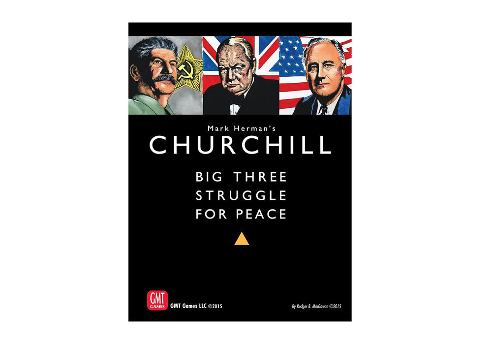 Churchill: Big Three Struggle for Peace (Reprint)