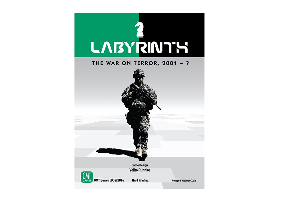 Labyrinth: The War on Terror 2001 (4th Printing, 2018)