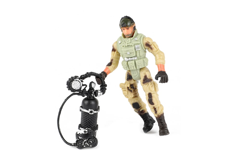Toi-Toys Army Special Forces actiefiguur soldaat duikexpert