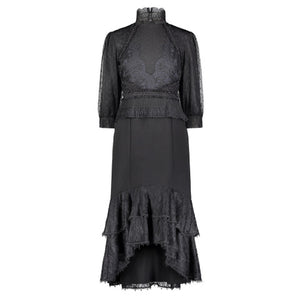Ellie Black Lace Dress