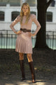 Infinity Skirt Dusty Rose