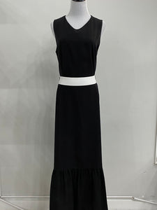 Sleeveless Bottom Tier Dress