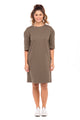 Mayas Solid T-Shirt Dress