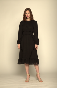 The Ariella Dress-Black