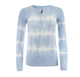 Point Ribbed SF Zip Tee Tie Dye