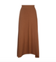 Parni Ribbed Maxi Skirt With Vein