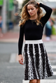 Bliss Printed Knit Skirt