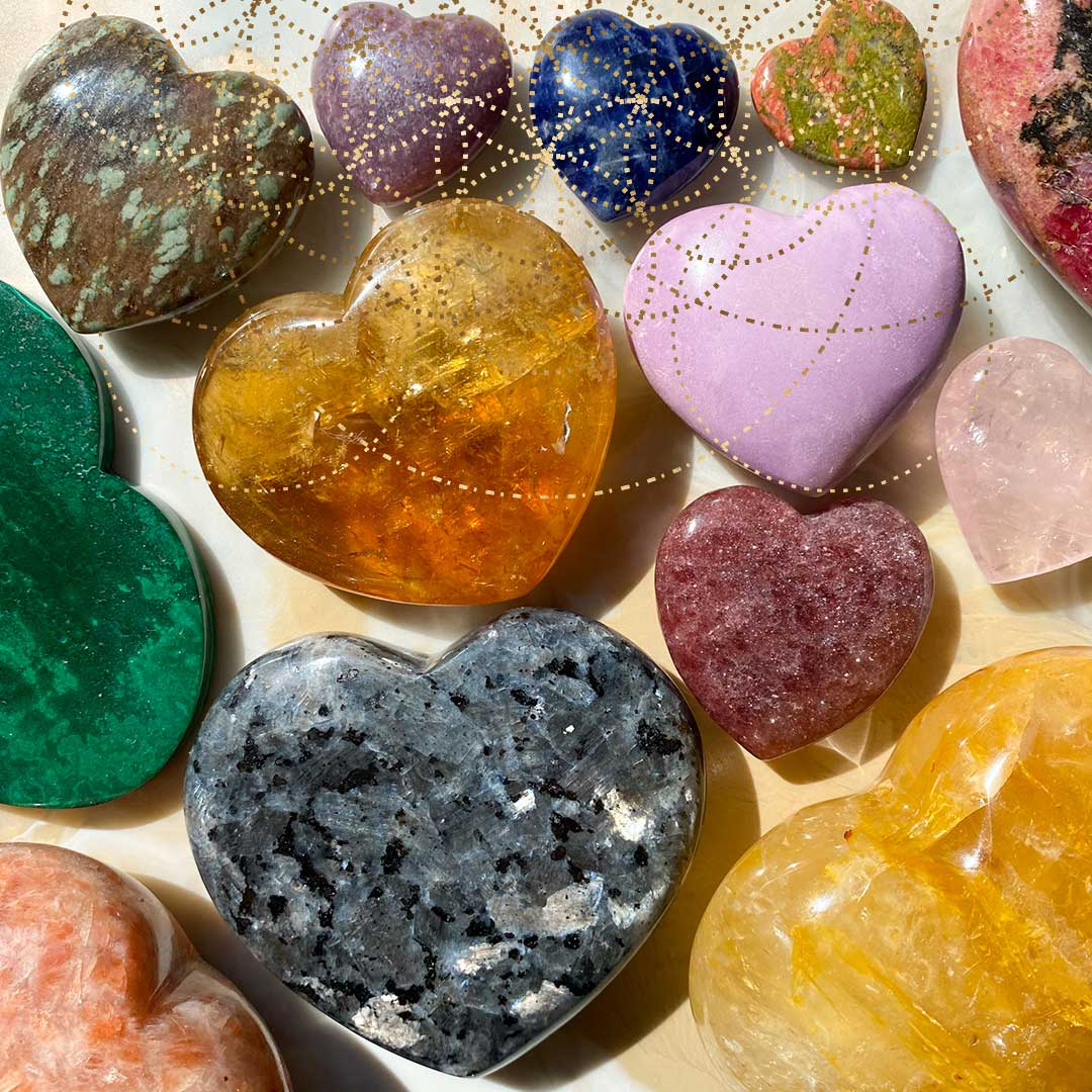 Soulmate Crystals Product Collections Hearts