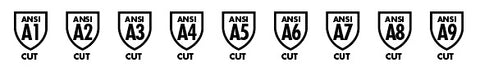 ANSI 105 Markings ANSI 105 Levels Cut Resistance Cut Resistant Gloves