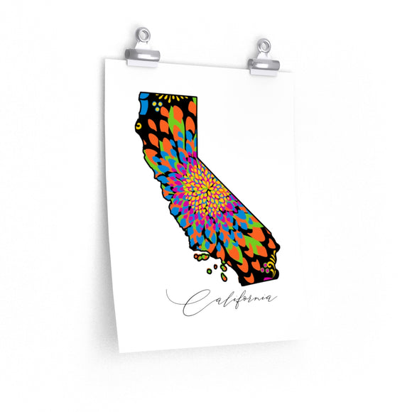 California Truck Art Posters