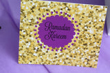 Purple Ramadan printable Greeting Card,Ramadan Greeting card,now with two bonus card!! - madihacreates