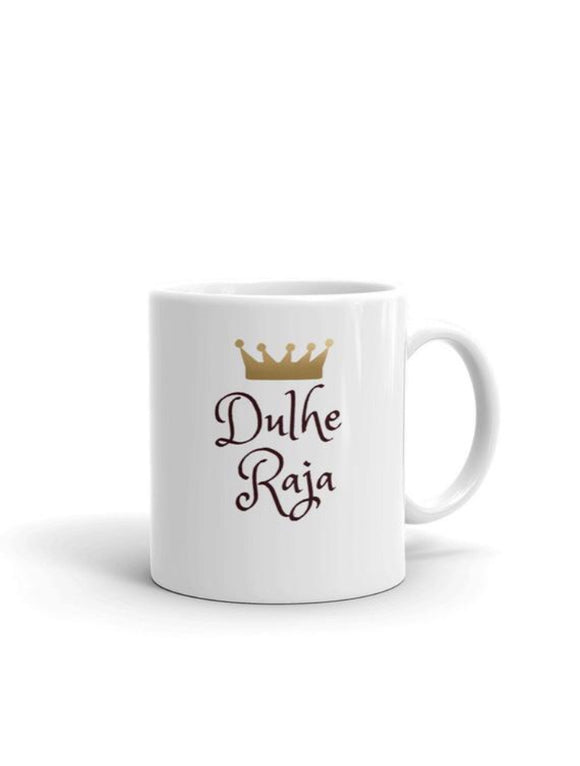 Dulhe Raja Mug, Desi Groom Gift, Desi wedding gift - madihacreates