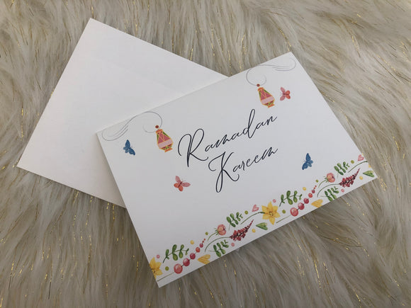 Spring Into Ramadan Greeting Card