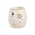 Ceramic Electric Wax Warmer - Beige Floral