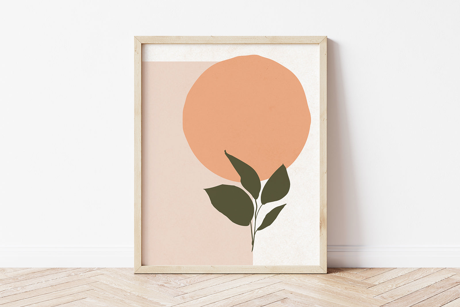 Avery abstract art print
