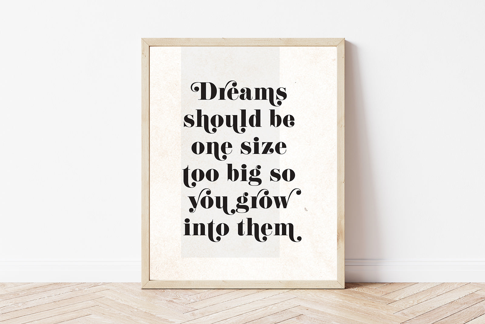 Big dreams Art Print