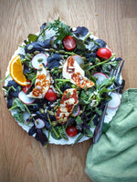 Halloumi Salad with Orange Vinaigrette