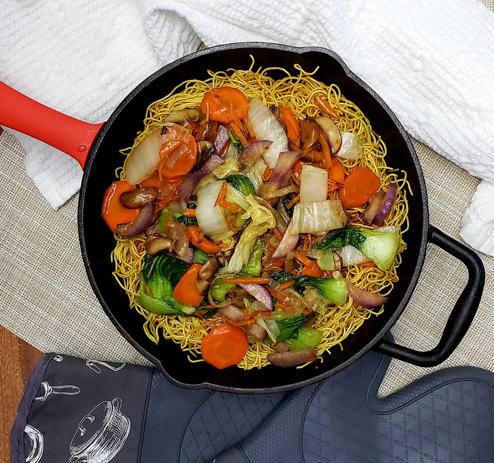 Fried Noodles and Veggies