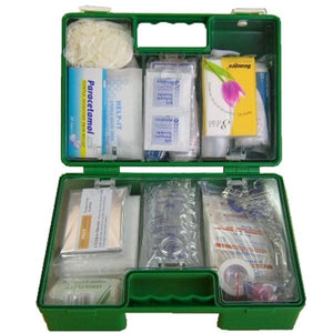 First Aid Kit, Plastic Box - 6-25 People - FAK016PB