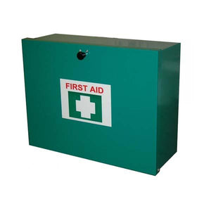 First Aid Kit, Metal Box - 1-50 People - FAKM50