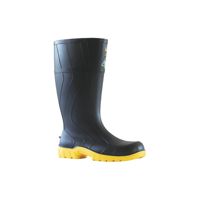 Bata Safemate Gumboot - Black