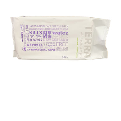 Anti-bacterial Wipes 40pk