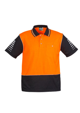 Syzmik Hi-Vis Zone Polo Orange/Black - ZH236