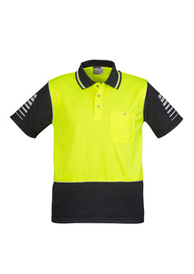 Syzmik Hi-Vis Zone Polo Yellow/Black - ZH236