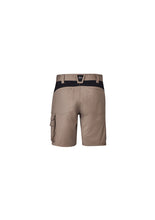 Load image into Gallery viewer, Syzmik Streetworx Tough Shorts Khaki - ZS550