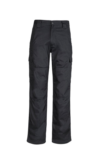 Syzmik Drill Cargo Pants Black - ZW001