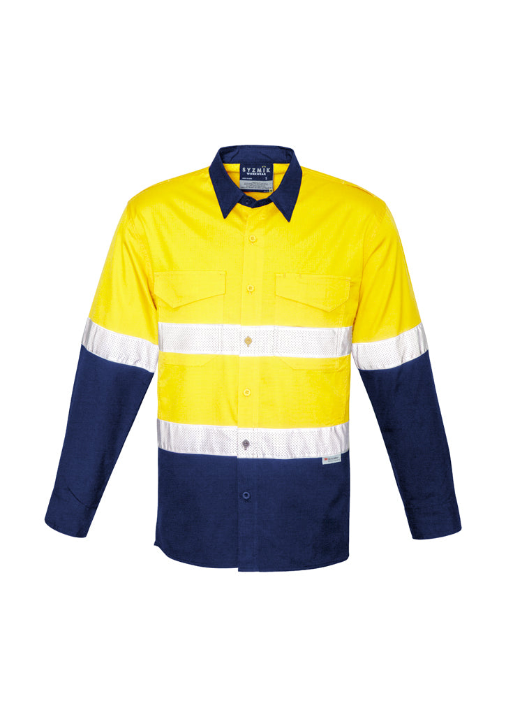 Syzmik Rugged Cooling Tape Yellow/Navy Hi-Vis - ZW129