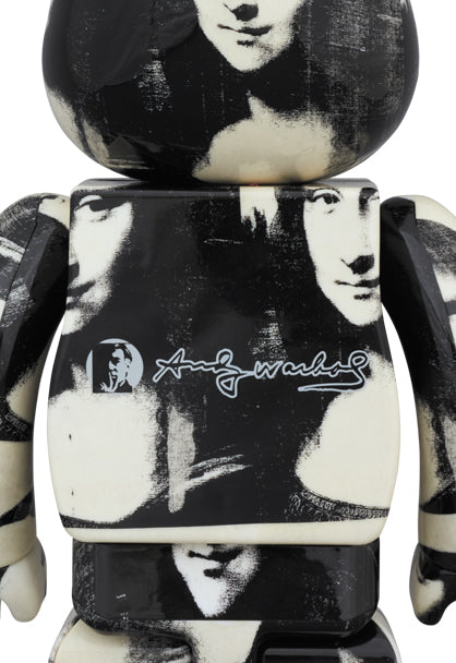 toy-lectables - BE@RBRICK Andy Warhol Double Mona Lisa 1000% - Preorder - Medicom