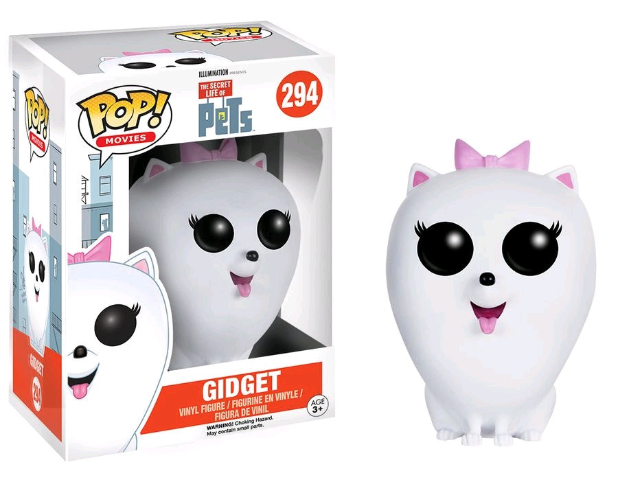 toy-lectables - Secret Life of Pets - Gidget Pop! Vinyl - FUNKO Pop! vinyl - FUNKO