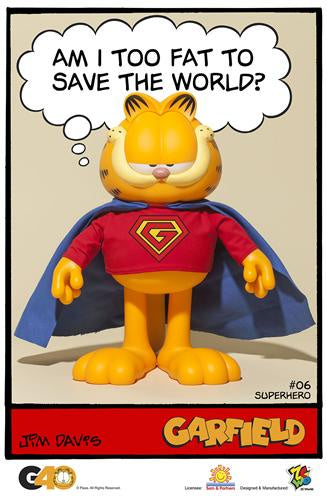 Garfield - Master Series 06 (Superhero)