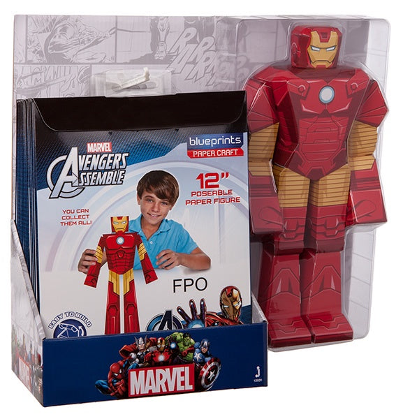 toy-lectables - MARV Papercraft - Miscellaneous - Marvel