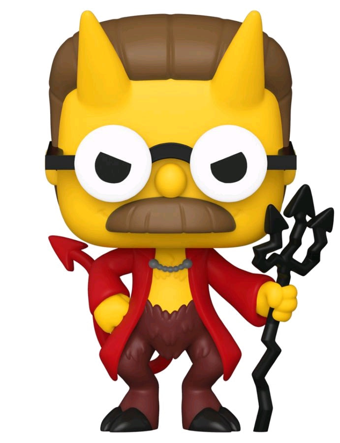 The Simpsons - Flanders Devil Pop! Vinyl