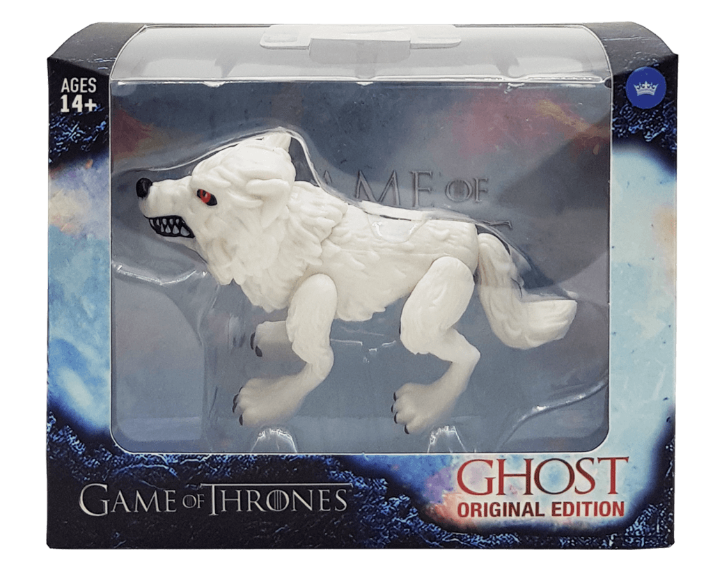 toy-lectables - Game of Thrones GHOST Action Figure - Cool S%#@! - The Loyal Subjects