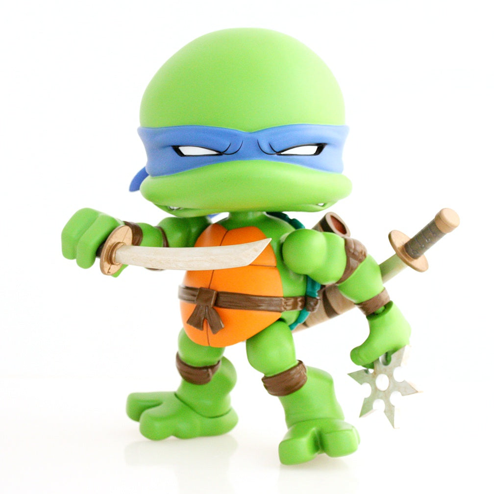 toy-lectables - TMNT Jumbo Action Vinyl Leonardo - Cool S%#@! - The Loyal Subjects