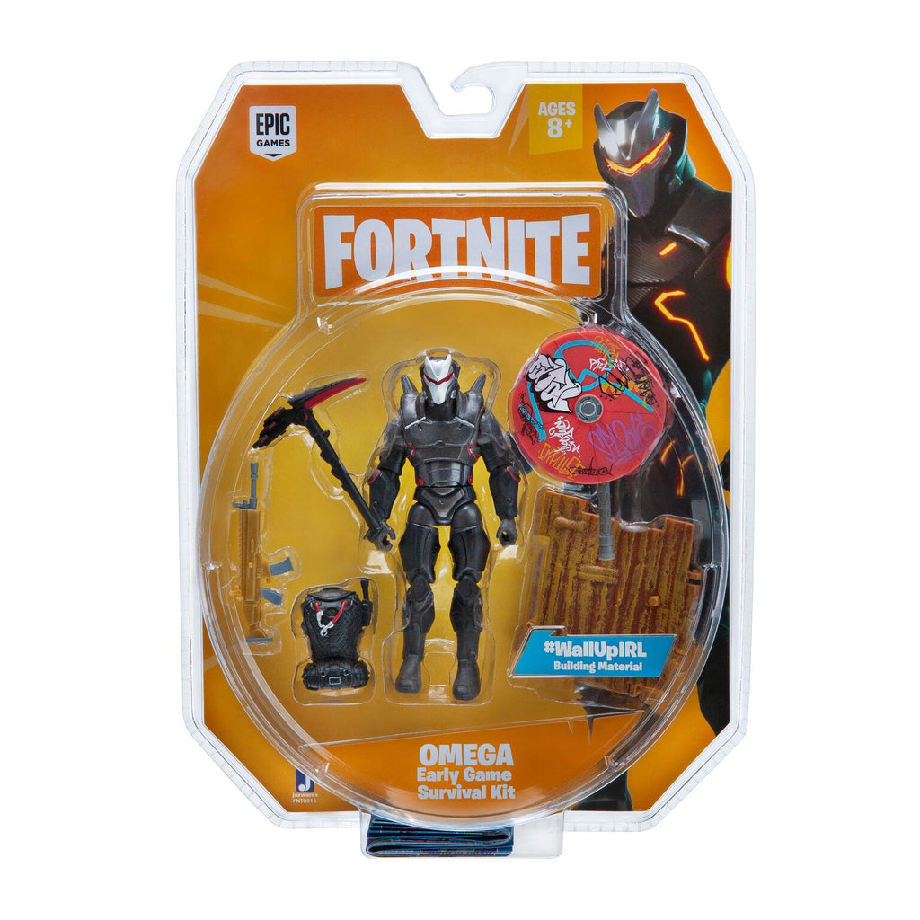 toy-lectables - Fortnite Figure Omega Early Survival Kit - Kids Stuff! - Epic Games