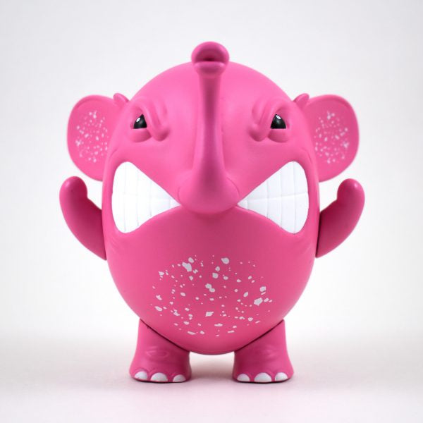 "Charlie The Angry Elephant ""Pink"" By Angel Once"