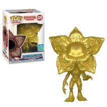 toy-lectables - Stranger Things - Demogorgon Metallic Gold SDCC 2019 - FUNKO Pop! vinyl - FUNKO
