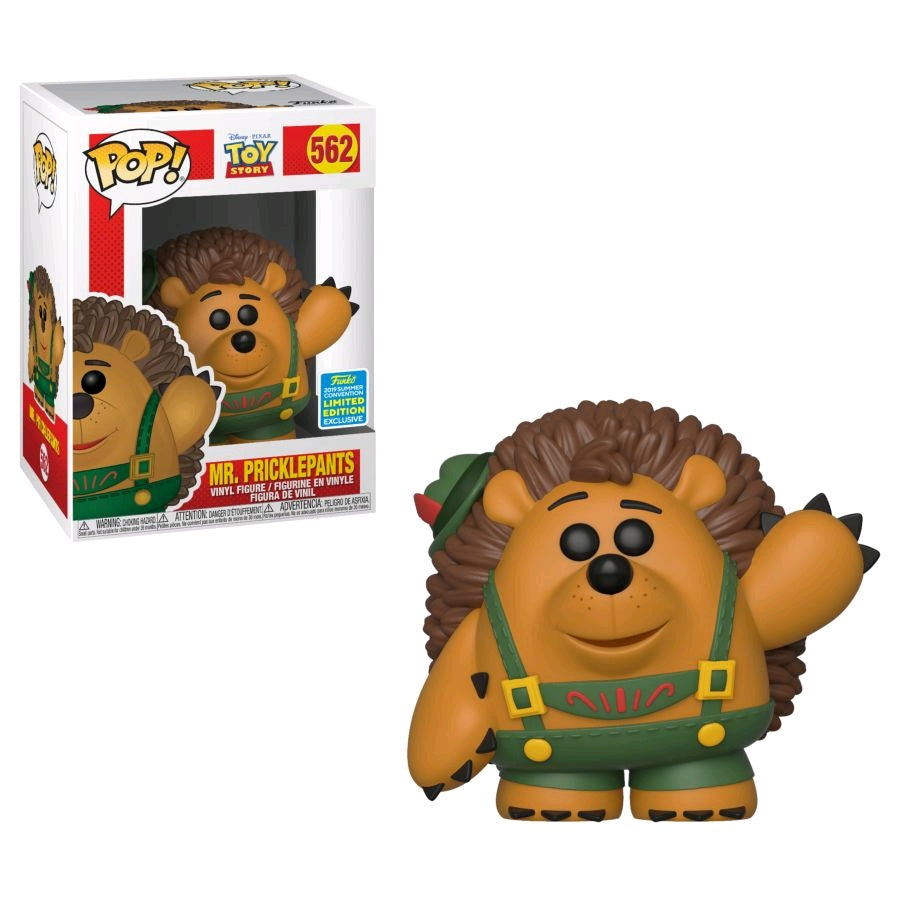 toy-lectables - Toy Story - Mr. Pricklepants SDCC 2019 US Exclusive Pop! Vinyl [RS] - FUNKO Pop! vinyl - FUNKO