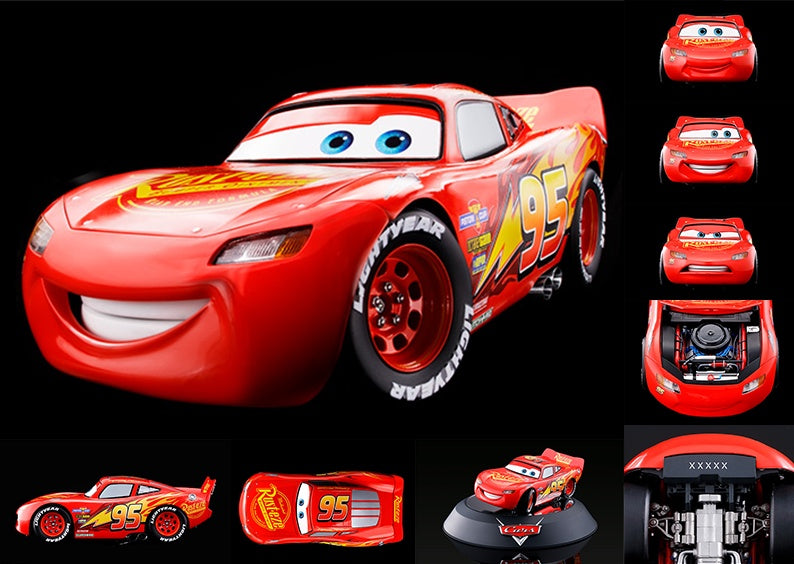 toy-lectables - CHO CARS Lightening McQueen - Cool S%#@! - Tamashii Nations